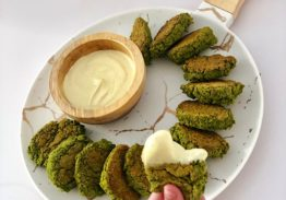 Spinach Falafel