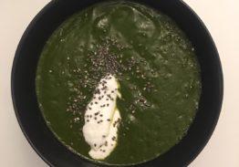 Spinach & Zucchini Cream